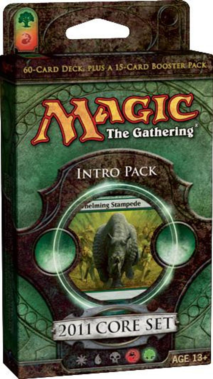 MtG Magic 2011 Stampede of Beasts Intro Pack [Sealed Deck]