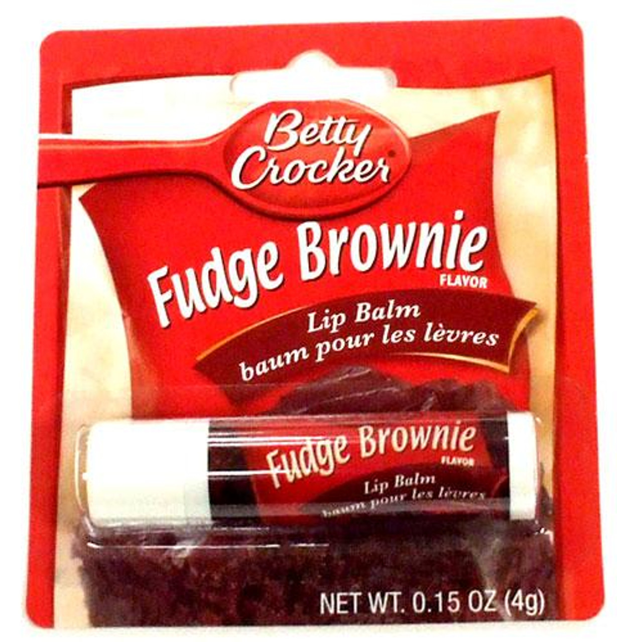Betty Crocker Fudge Brownie Lip Balm