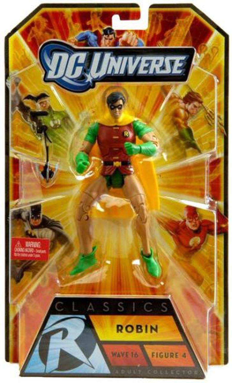 DC Universe Batman Classics Wave 16 Robin Action Figure #4 [Dick Grayson]