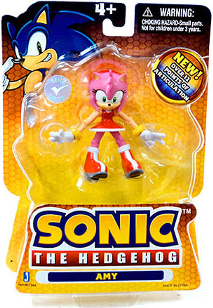 Sonic The Hedgehog Amy Action Figure [12 Points of Articulation]