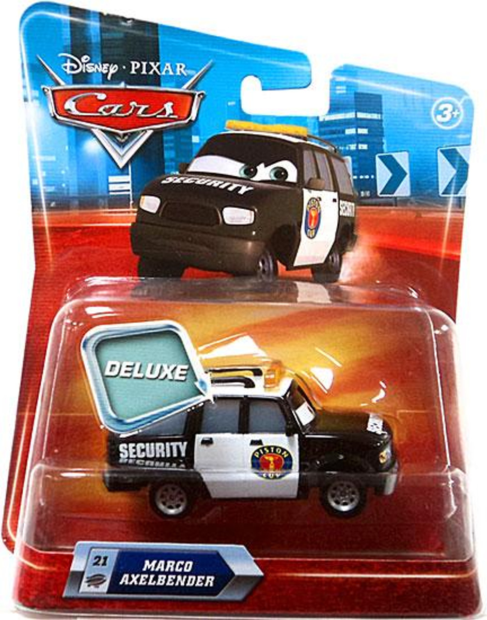 Disney Cars Deluxe Oversized Marco Axelbender Diecast Car