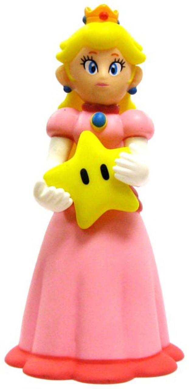Super Mario Bros Princess Peach 5-Inch PVC Figure