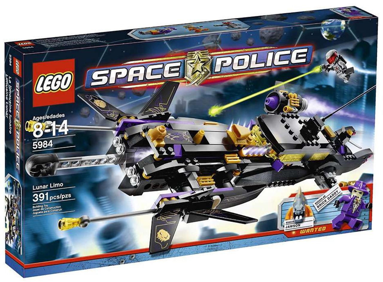 LEGO Space Police Lunar Limo Set #5984