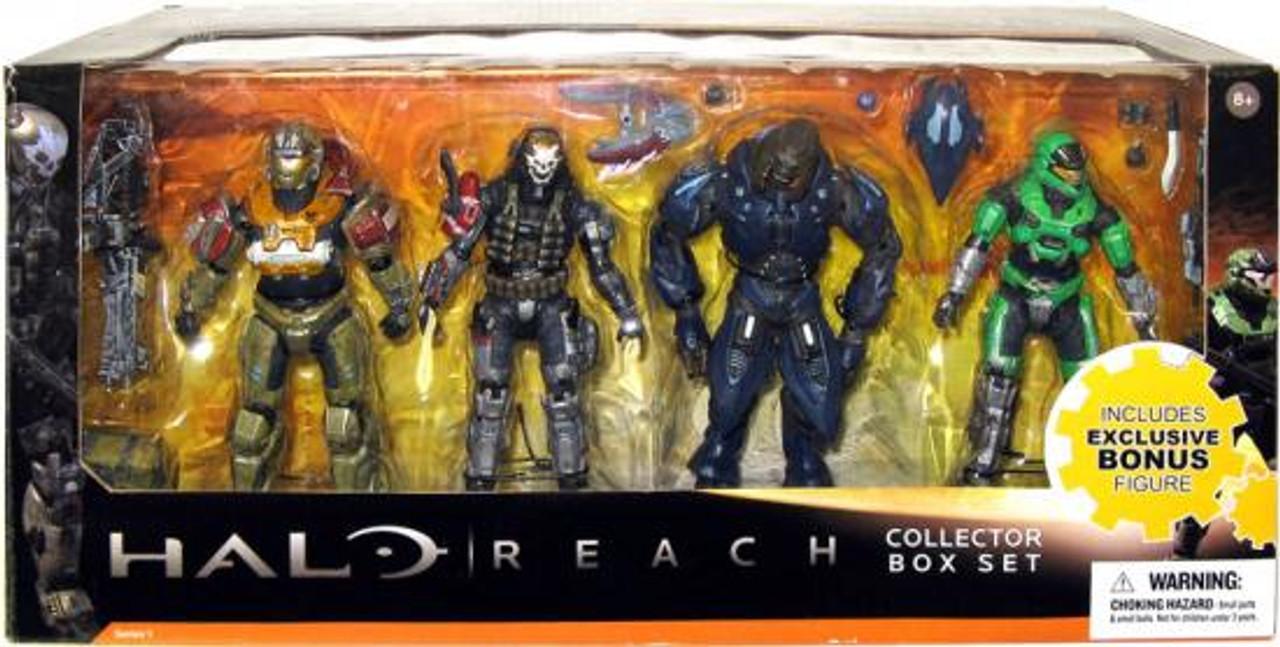 McFarlane Toys Halo Reach Series 1 Collector Box Set Exclusive