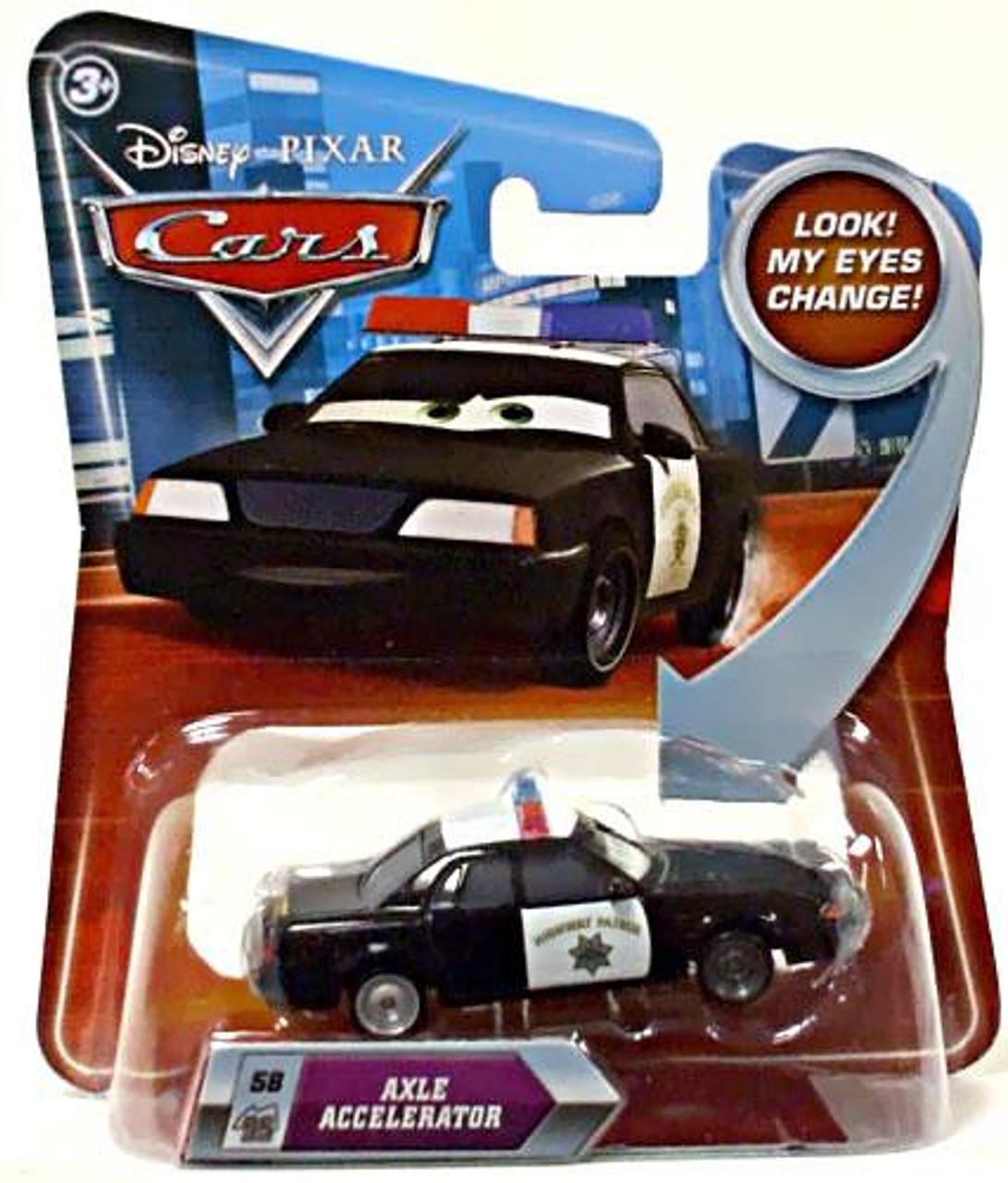 Disney Cars Lenticular Eyes Series 2 Axle Accelerator Diecast Car