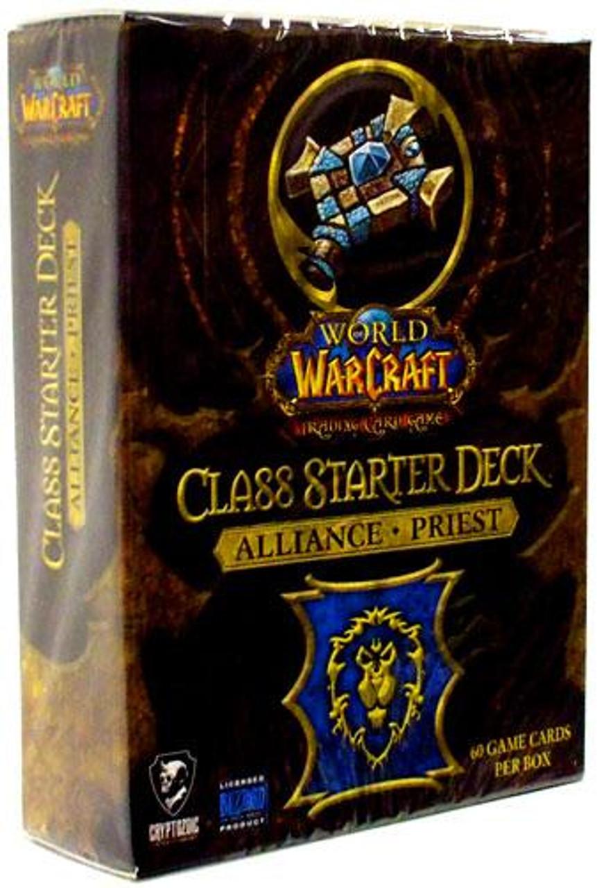 World of Warcraft Trading Card Game Class Starter Deck Priest Starter Deck [Alliance]