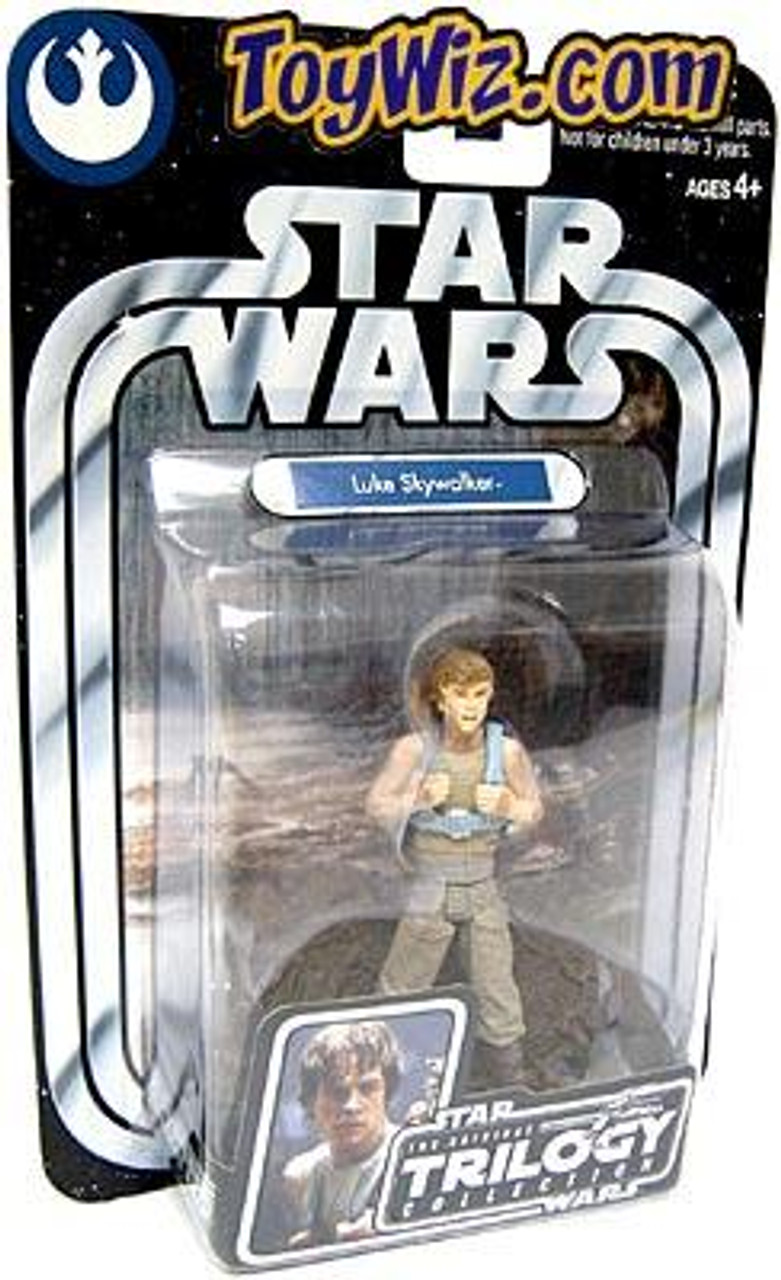 Star Wars Empire Strikes Back Original Trilogy Collection 2004 Luke Skywalker Action Figure #1 [Dagobah, Upright]