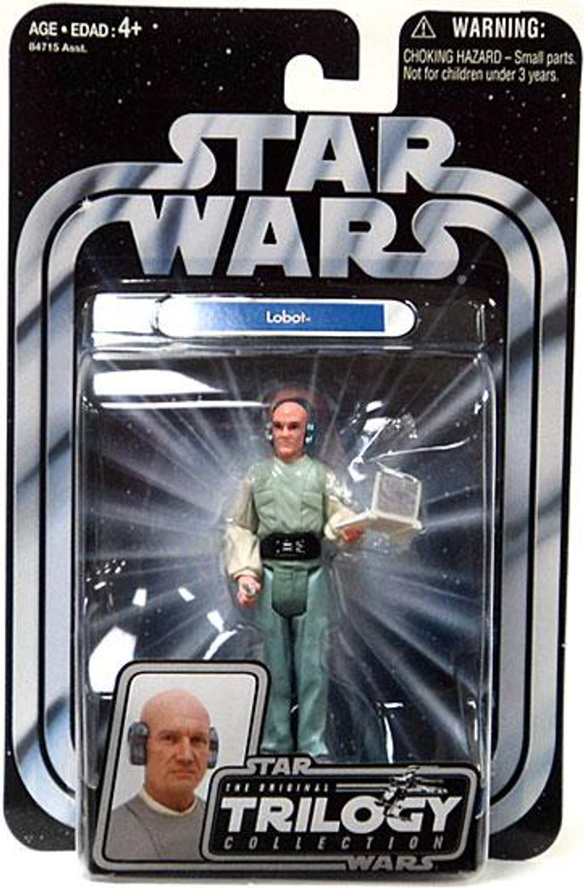 Star Wars Empire Strikes Back Original Trilogy Collection 2004 Lobot Action Figure #20