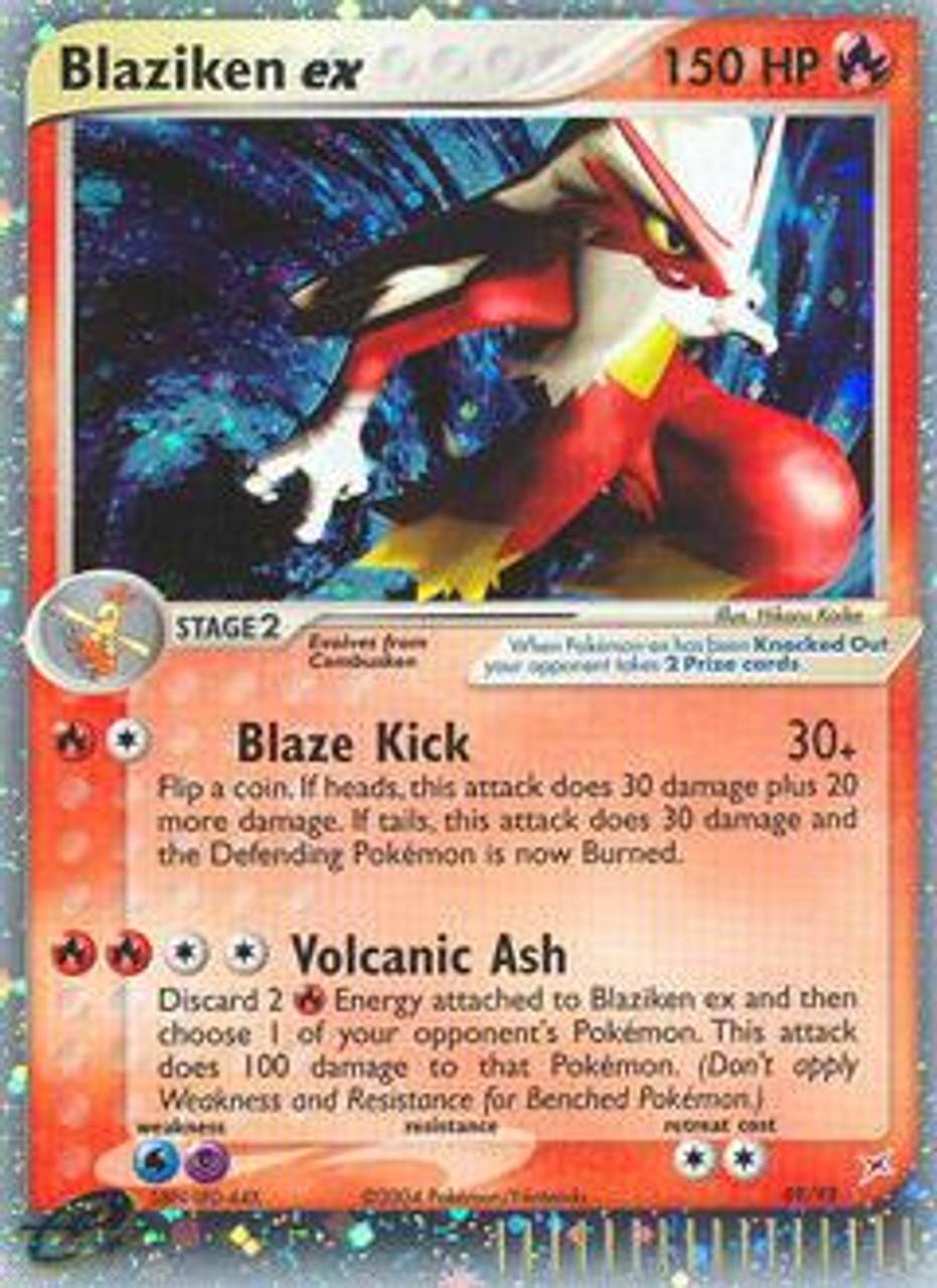 Pokemon Team Magma vs Team Aqua Ultra Rare Holo EX Blaziken-EX #89