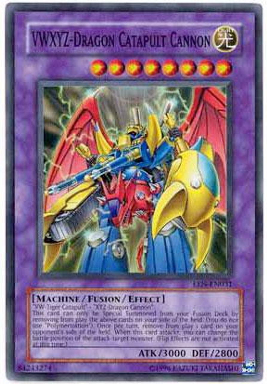 YuGiOh Elemental Energy Super Rare VWXYZ - Dragon Catapult Cannon EEN-EN031