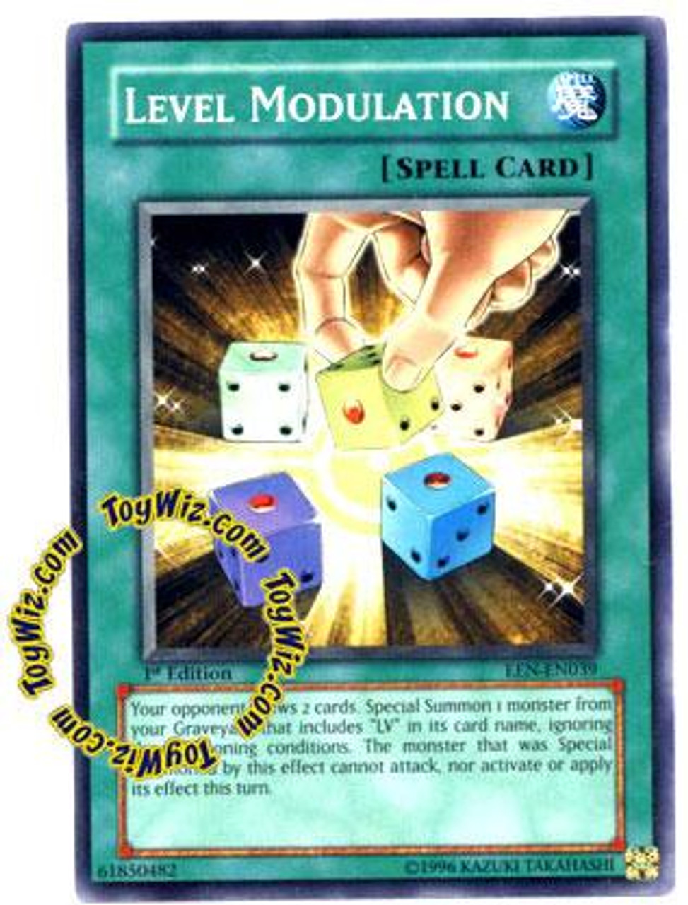 YuGiOh Elemental Energy Common Level Modulation EEN-EN039