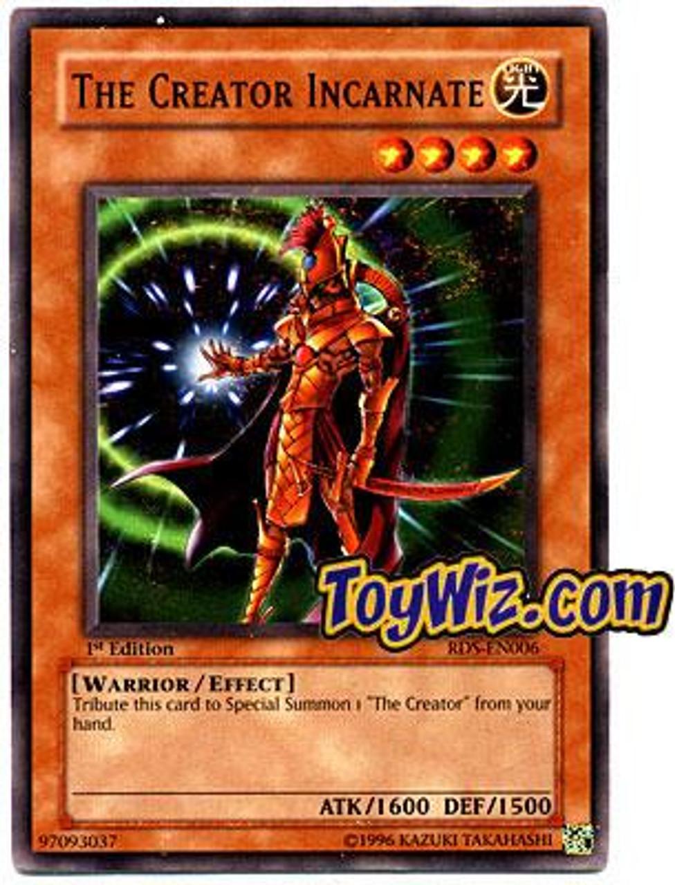 YuGiOh Rise of Destiny Common The Creator Incarnate RDS-EN006