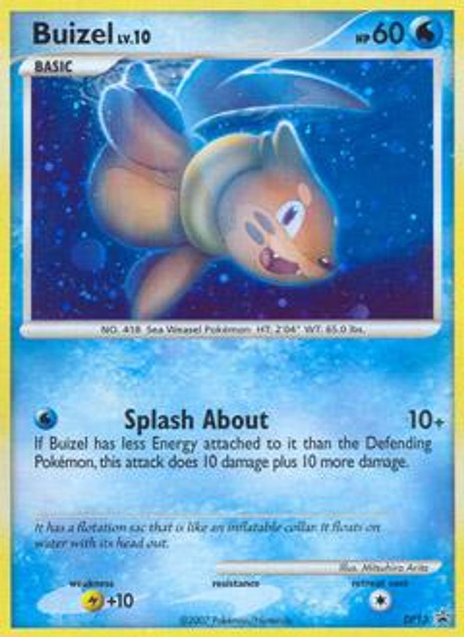Pokemon Diamond & Pearl Promo Rare Holo Buizel DP13