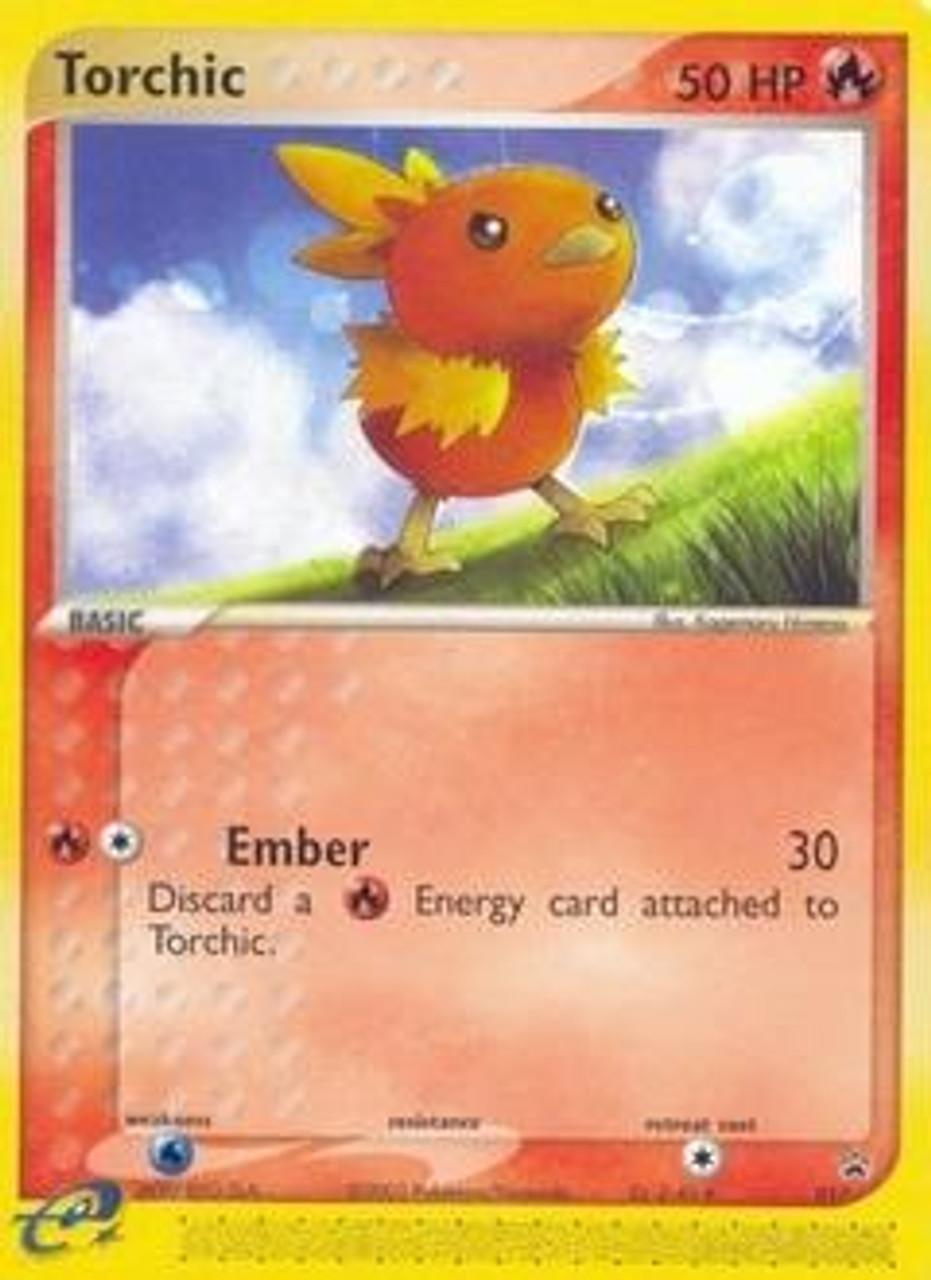 Pokemon Promo Cards Rare Torchic #17
