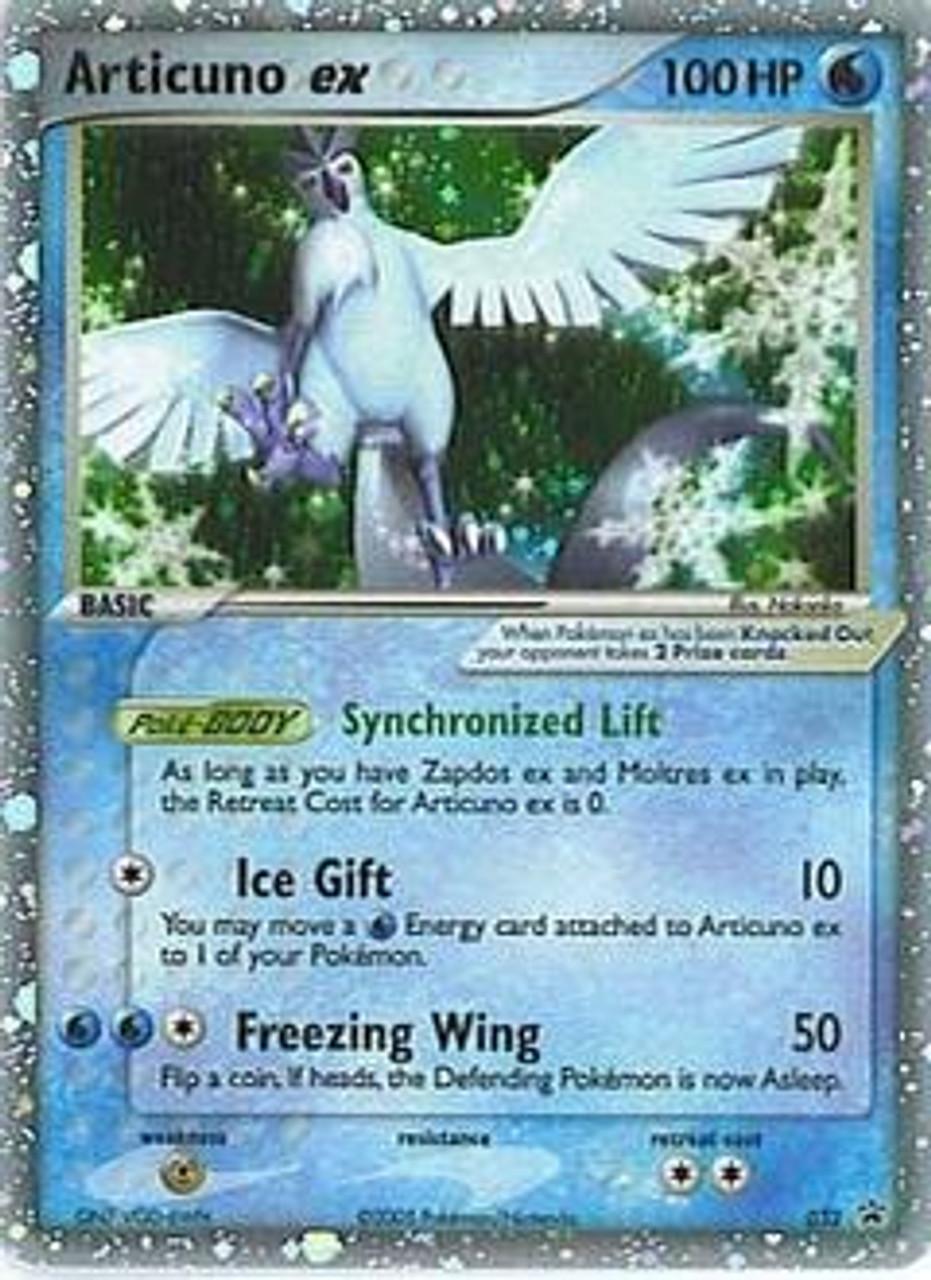 Pokemon Promo Cards Ultra Rare Holo EX Articuno-EX #32
