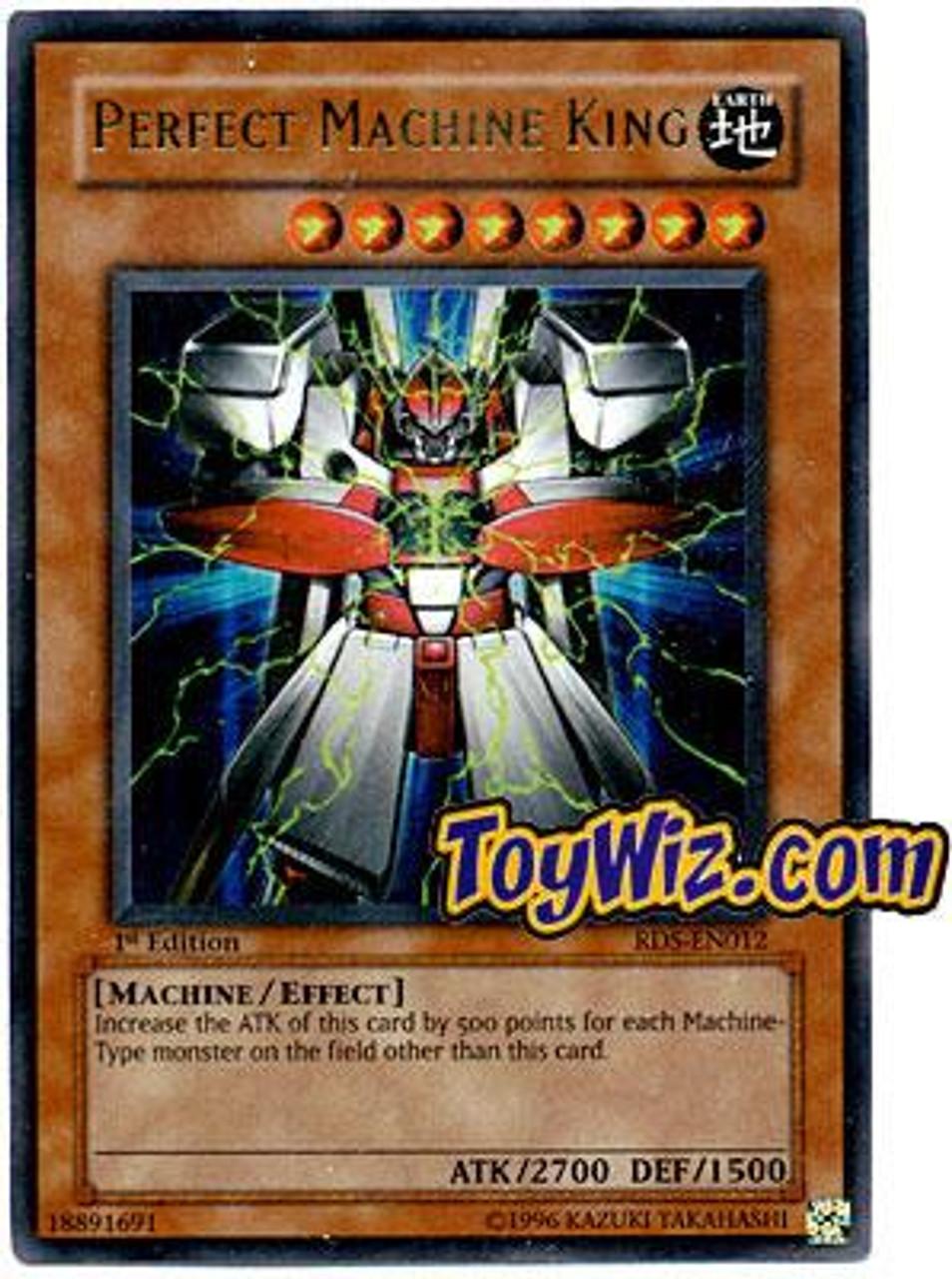 YuGiOh Rise of Destiny Ultra Rare Perfect Machine King RDS-EN012