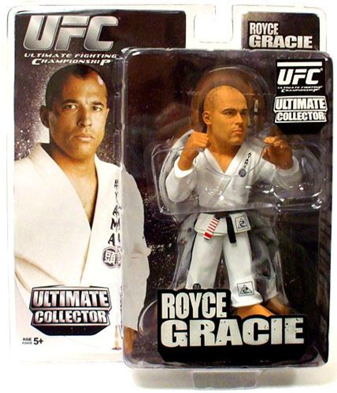UFC Ultimate Collector Series 4 Royce Gracie Action Figure