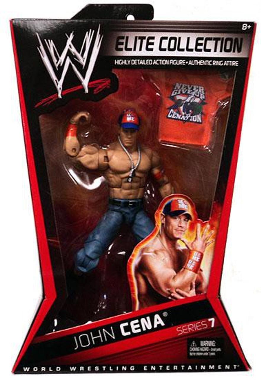 WWE Wrestling Elite Series 7 John Cena Action Figure