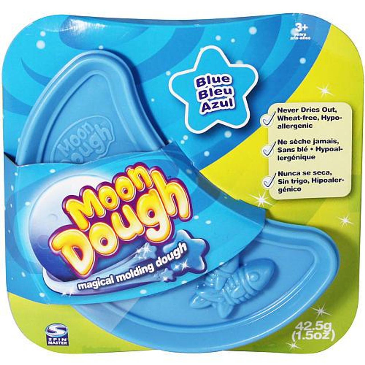 Moon Dough Magical Molding Dough Blue Single Pack