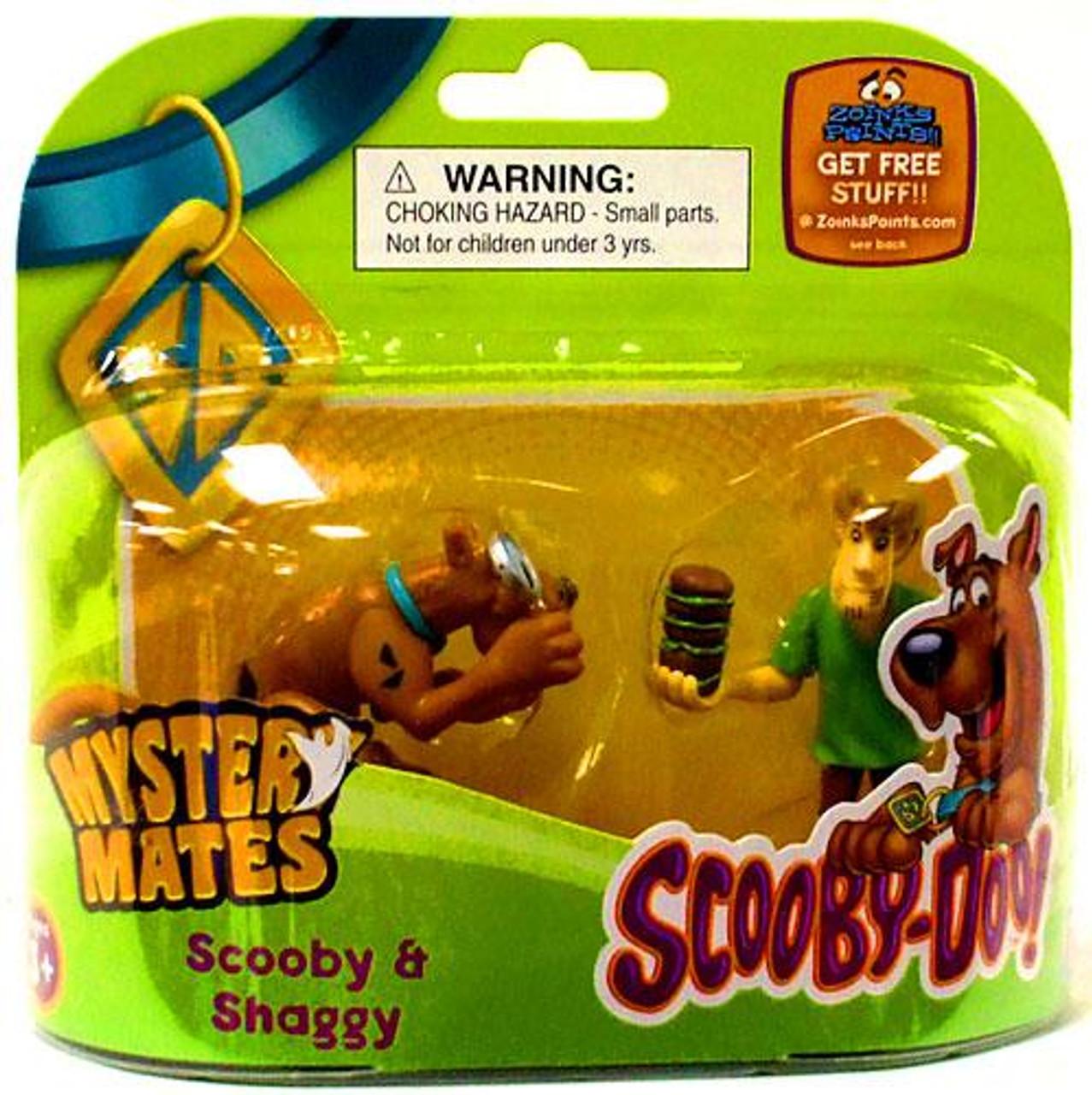 Scooby Doo Mystery Mates Scooby & Shaggy Mini Figure 2-Pack