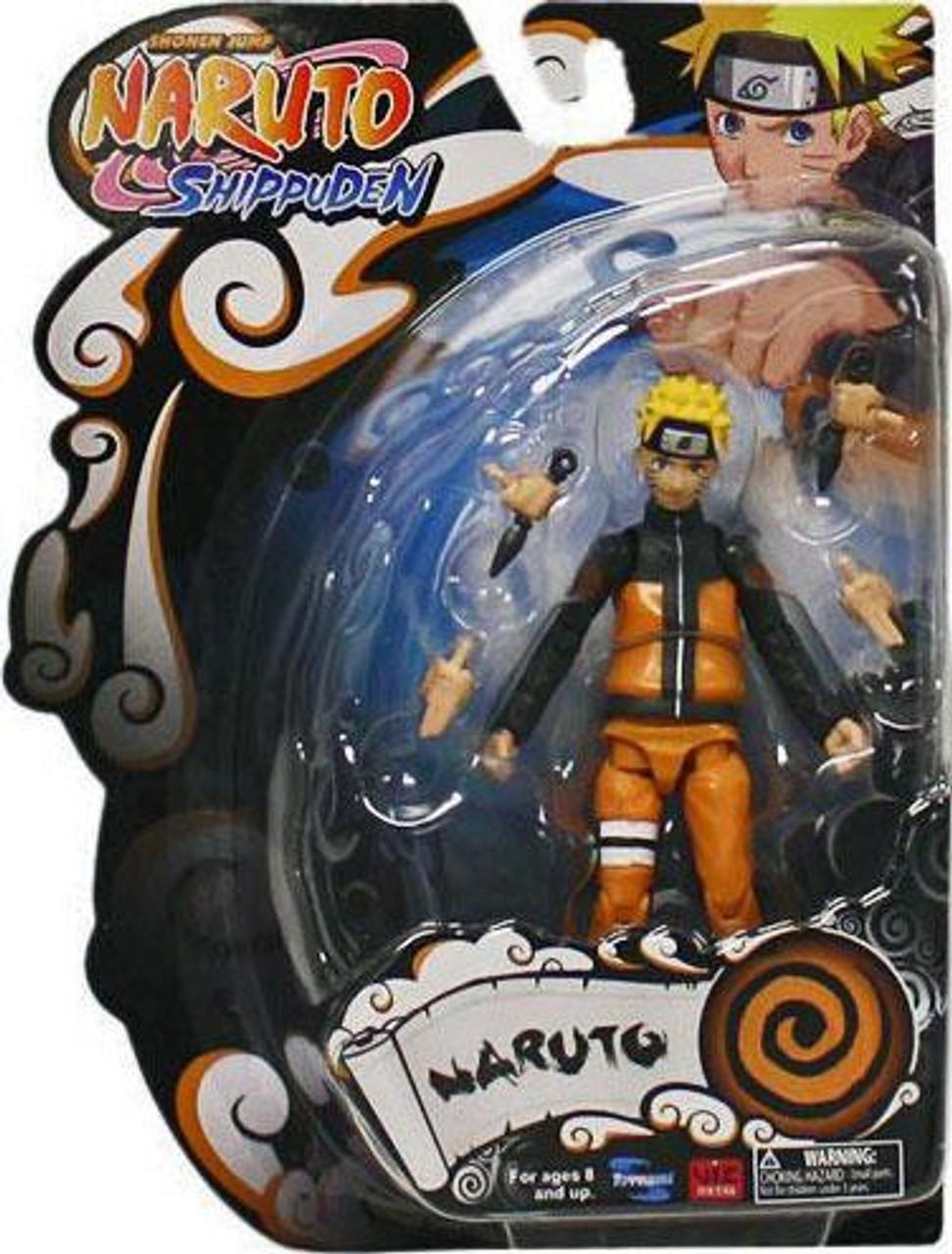 Shippuden 4-Inch Series 1 Naruto Uzumaki Action Figure