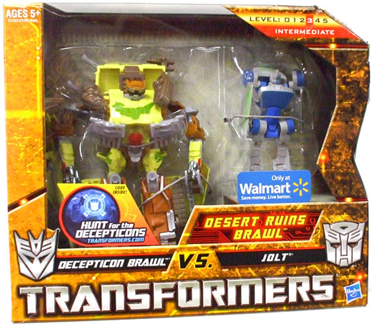 Transformers Hunt for the Decepticons Desert Ruins Brawl Exclusive Deluxe Action Figure Set