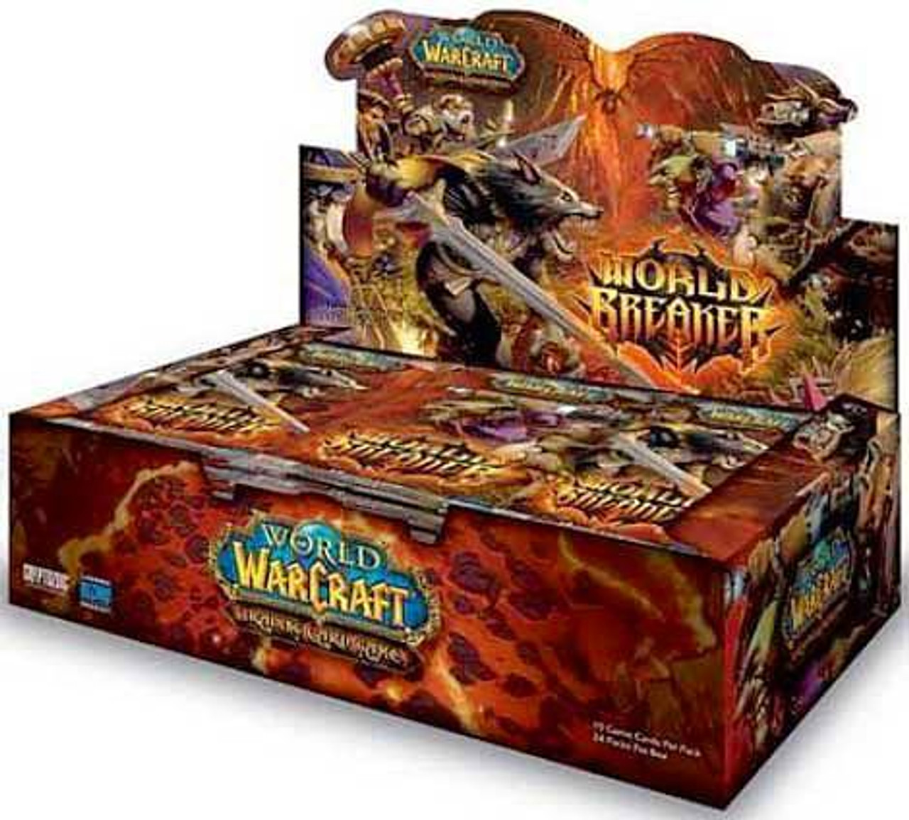 World of Warcraft Trading Card Game World Breaker Booster Box [24 Packs]