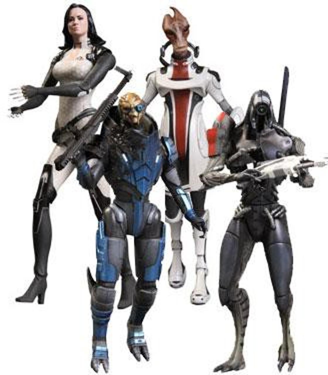 Mass Effect 3 Series 2 Set of 4 Action Figures
