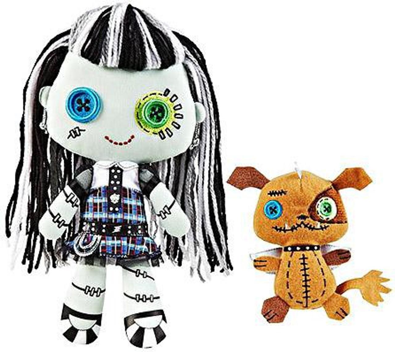Monster High Friends Frankie Stein & Watzit Plush Dolls