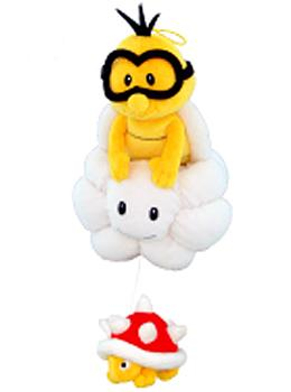 Super Mario Bros Lakitu & Spiny 8-Inch Plush