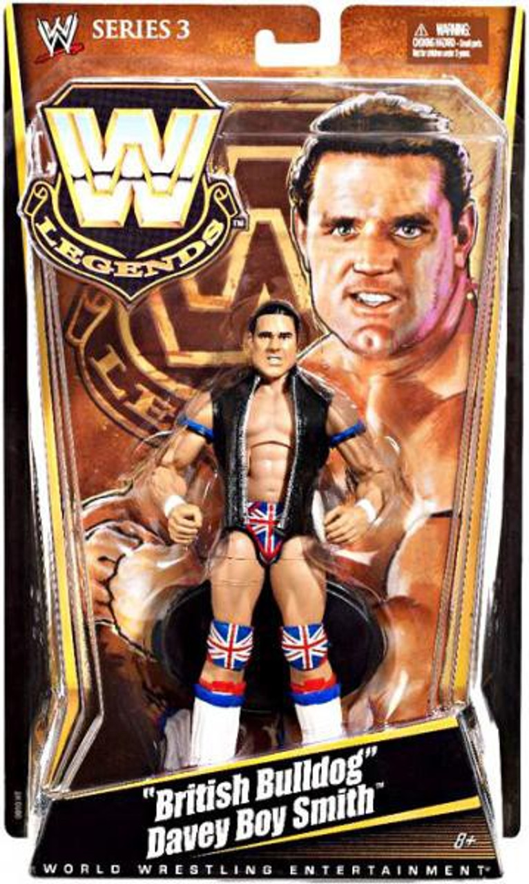WWE Wrestling Legends Series 3 British Bulldog Davey Boy Smith Action Figure