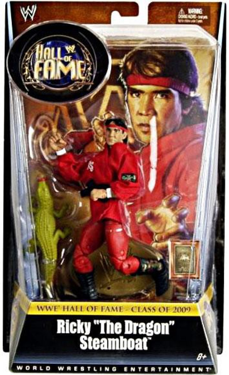 WWE Wrestling Hall of Fame Ricky The Dragon Steamboat Exclusive Action Figure