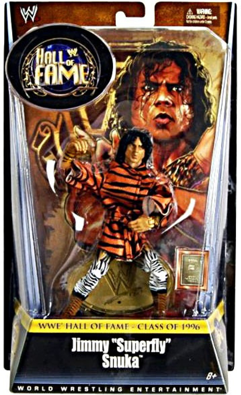 WWE Wrestling Hall of Fame Jimmy Superfly Snuka Exclusive Action Figure