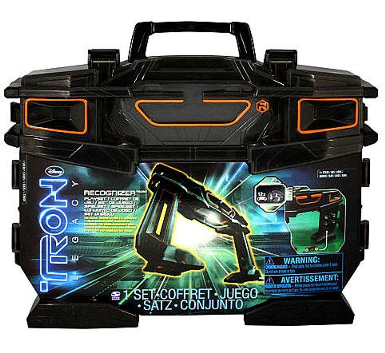 Tron Legacy Recognizer Carry Case Playset