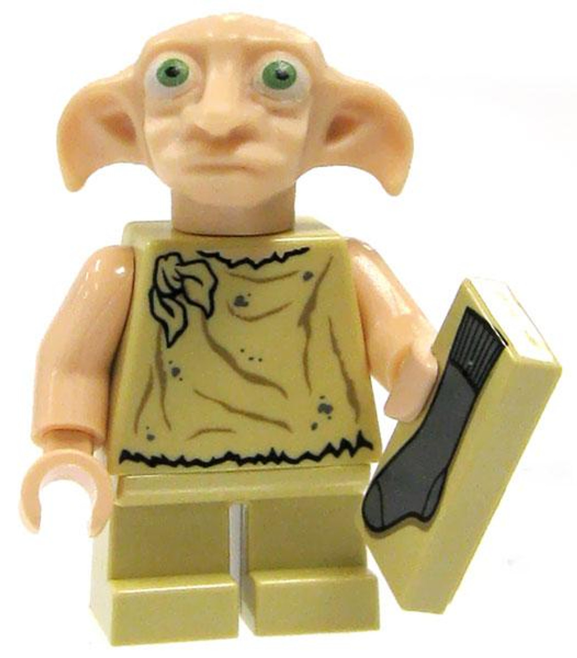 LEGO Harry Potter Loose Dobby Minifigure #1 [With Sock Loose]