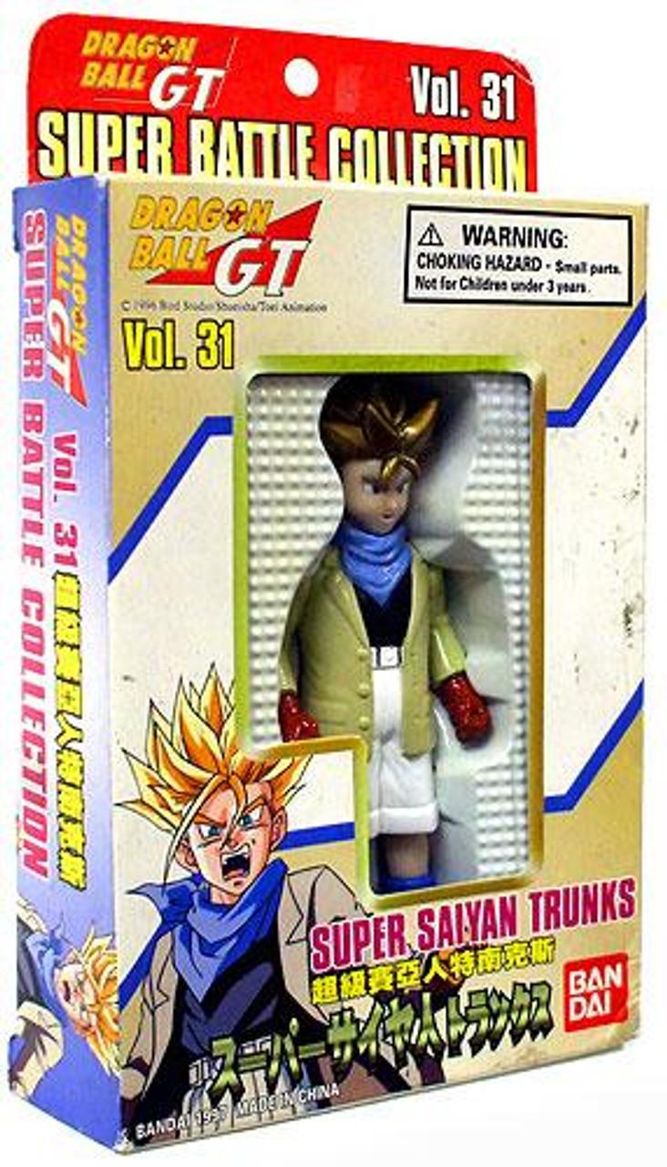 Dragon Ball GT Super Battle Collection Super Saiyan Trunks Action Figure #31