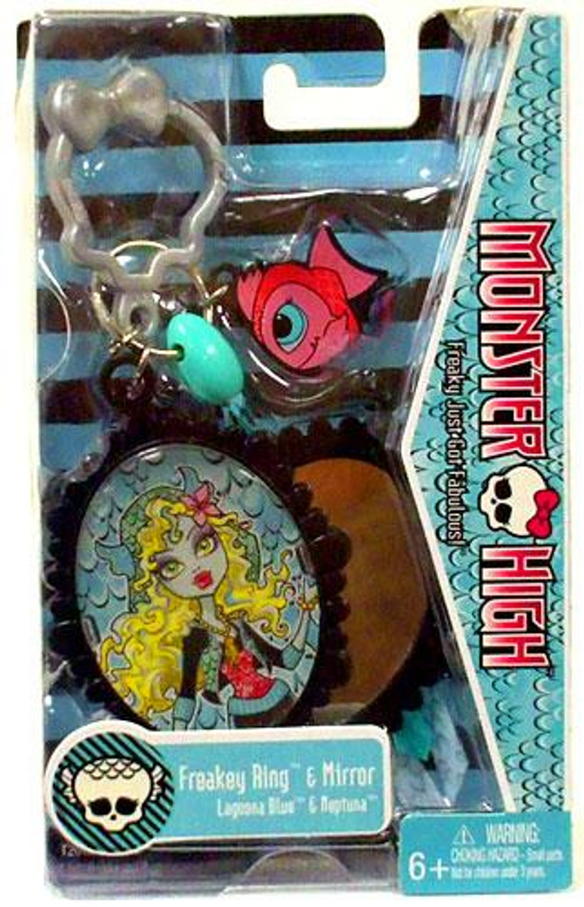 Monster High Freakey Ring & Mirror [Lagoona Blue & Neptuna]