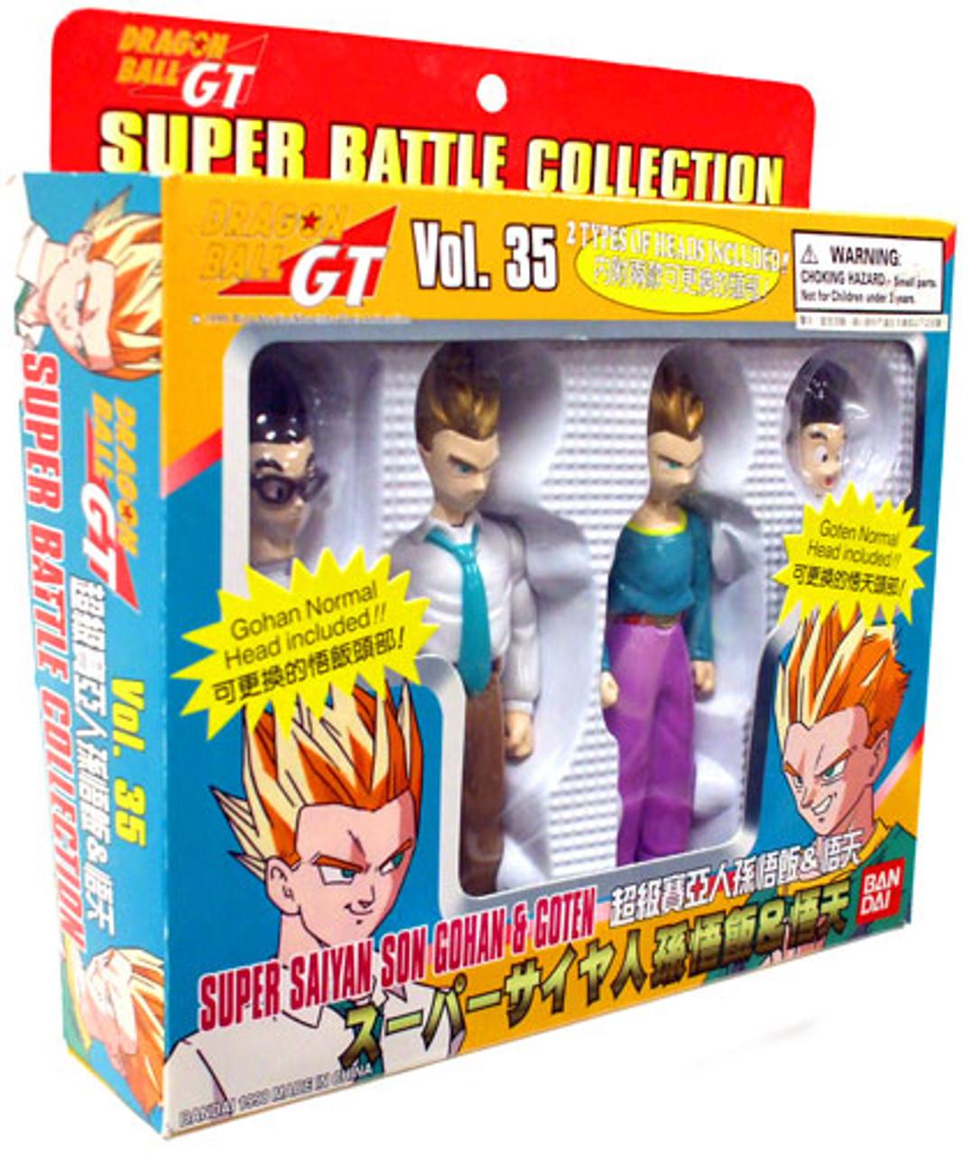 Dragon Ball GT Super Battle Collection Super Saiyan Son Gohan & Goten Action Figure 2-Pack #35