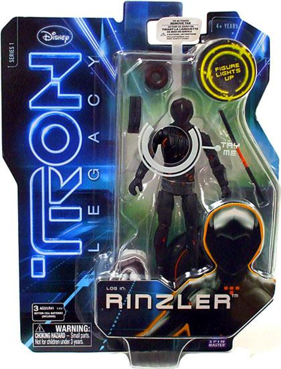 Tron Legacy Core Rinzler Action Figure