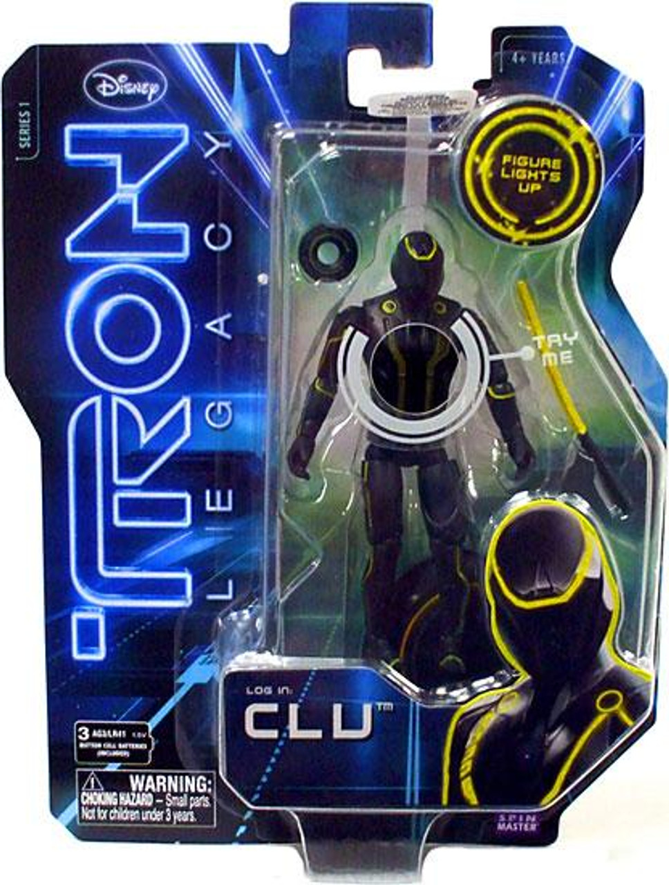 Tron Legacy Core Clu Action Figure