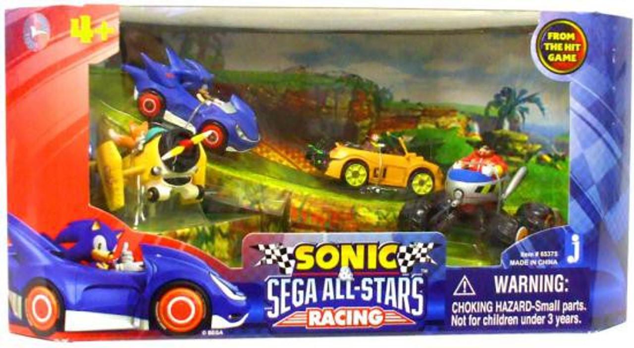 Sonic The Hedgehog Sega All-Stars Racing 1.5-Inch Figure Set