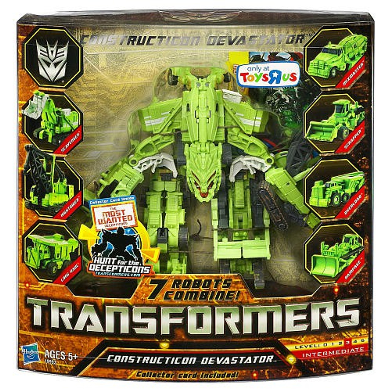 Transformers Hunt for the Decepticons Constructicon Devastator Exclusive Legend Action Figure Set