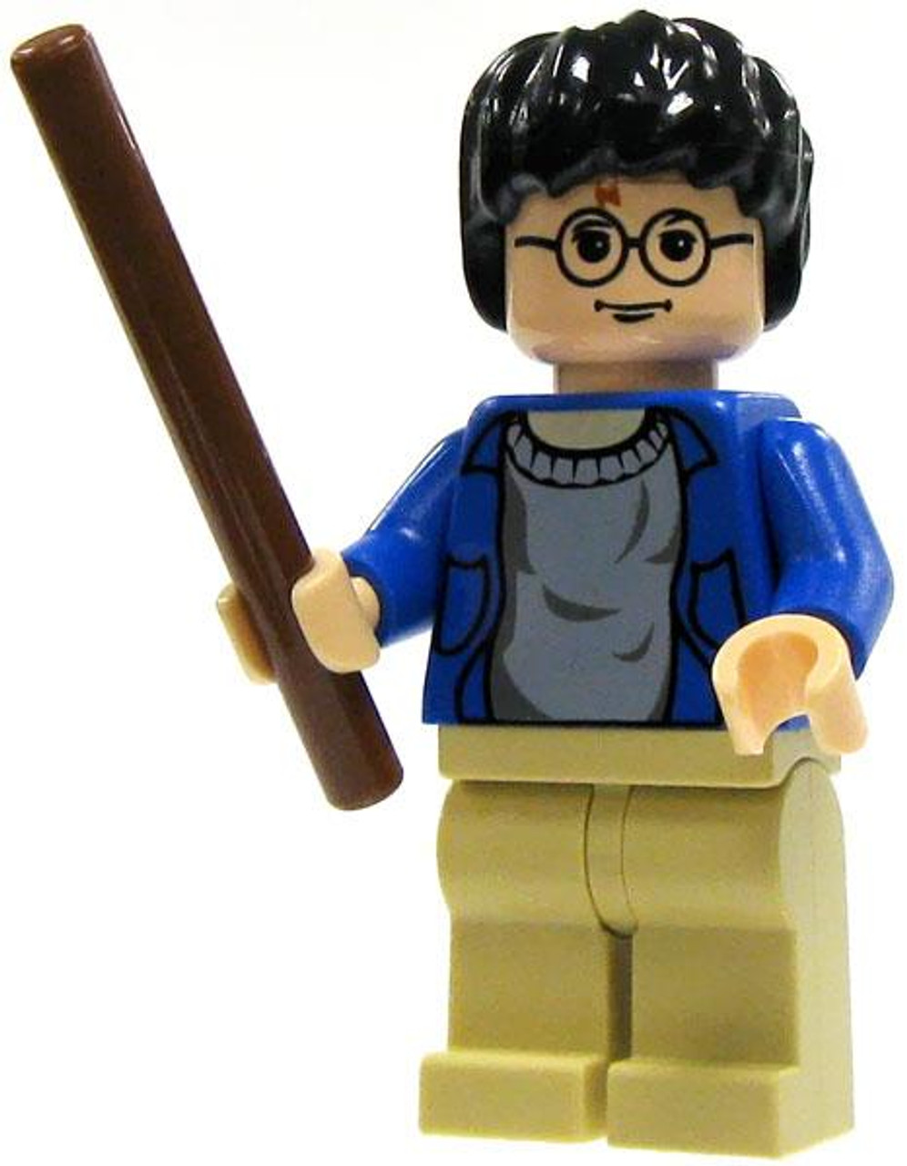 LEGO Loose Harry Potter Minifigure #1 [Blue Sweater, Tan Pants Loose]