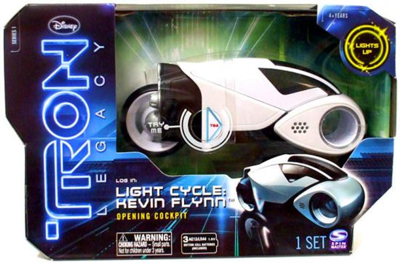 Tron Legacy Light Cycle: Kevin Flynn Vehicle