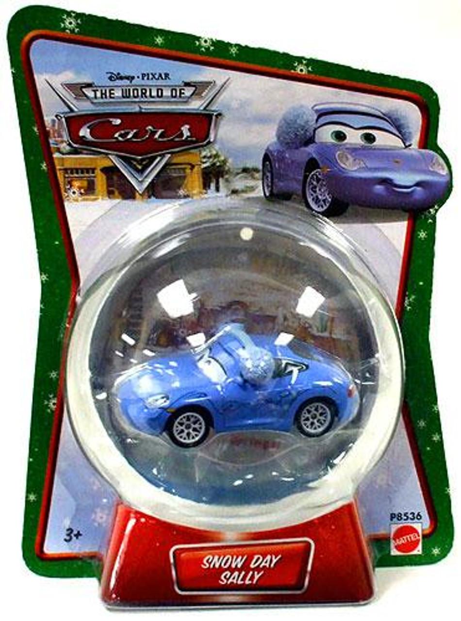 Disney Cars The World of Cars Series 1 Snow Day Sally Diecast Car