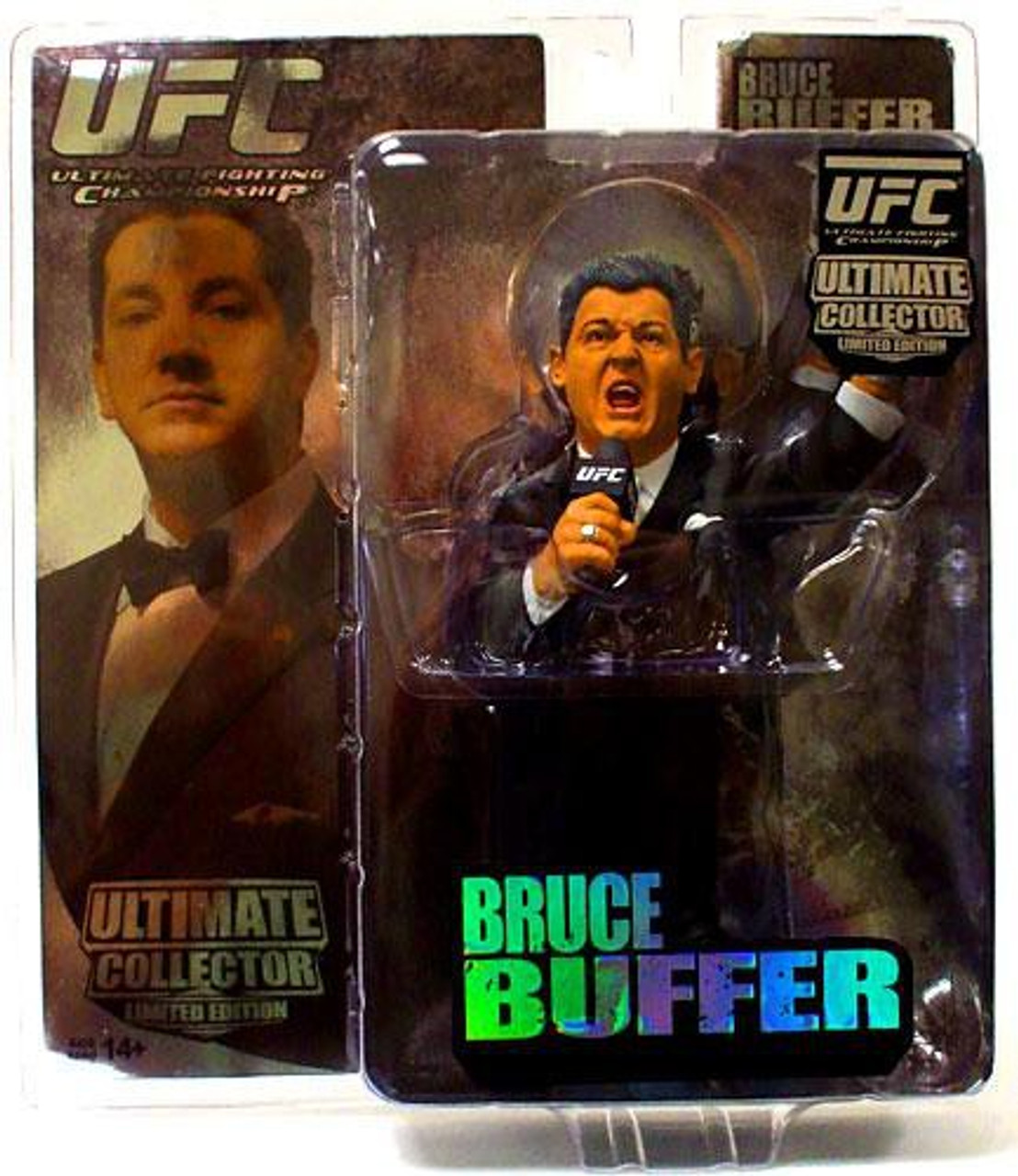 UFC Ultimate Collector Series 4 Bruce Buffer Action Figure [Limited Edition]