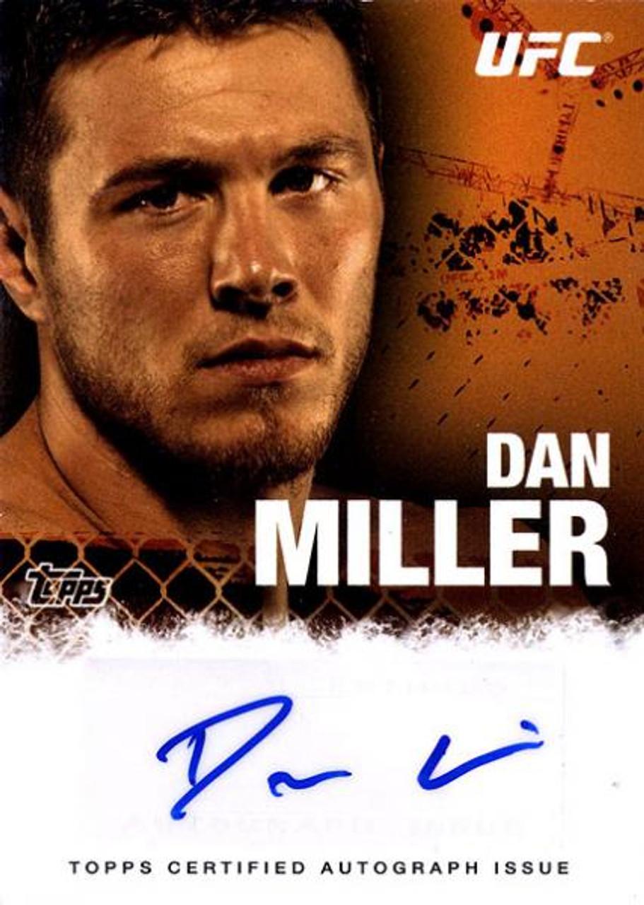 UFC 2010 Championship Dan Miller Autograph Card FA-DM