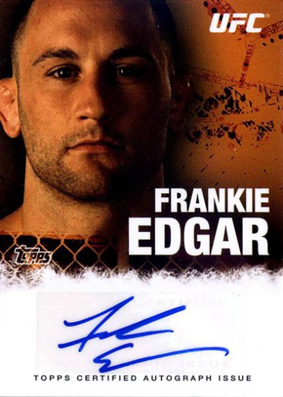 UFC 2010 Championship Frankie Edgar Autograph Card FA-FE