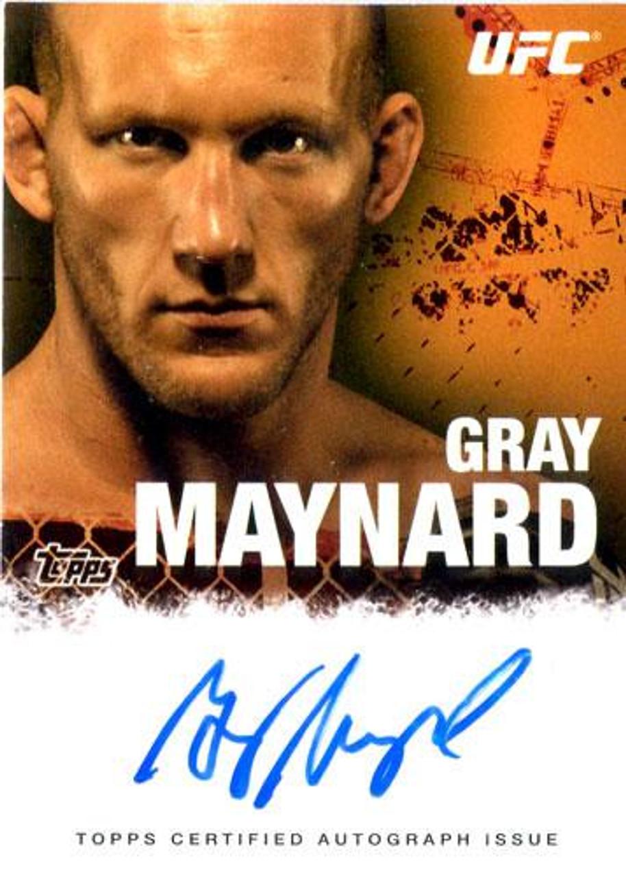 UFC 2010 Championship Gray Maynard Autograph Card FA-GM