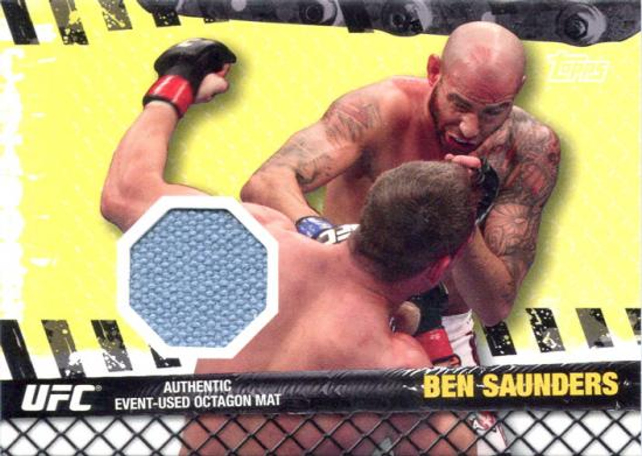 UFC 2010 Championship Fight Mat Relic Ben Saunders FM-BS